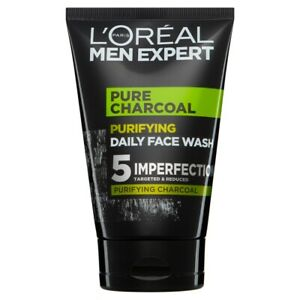 L'Oreal Men Expert Pure Charcoal Purifying Daily Face Wash Cleanser 100ml