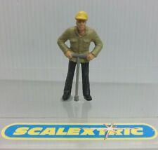 Estilo Vintage Hombre de mantenimiento de pista para Scalextric Airfix Ninco SCX FLY + 1.32... C