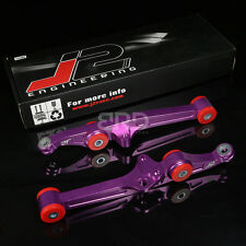 J2 SUSPENSION ALUMINUM FRONT LOWER CONTROL ARM FOR 90-93 INTEGRA/CIVIC PURPLE