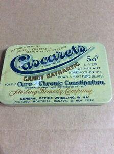 PRE 1910 ANTIQUE APOTHECARY MEDICINE ADVERTISING #9- Cascaret Candy Cathartic