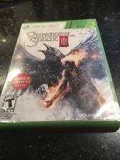 Dungeon Siege III  (Xbox 360, 2011) Brand New Factory Sealed