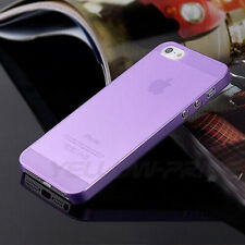 SLIM Matte Case For iPhone 5 /5s Ultra Thin Cover Shell Bumper Protection