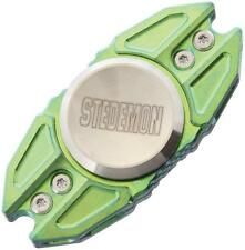Stedemon Knives Green Titanium Hand Spinner Top Ceramic Bearing Fidget Z02GRN