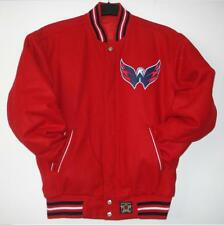 NHL Authentic Washington Capitals Wool Reversible Jacket Red JH Design