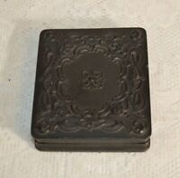 Antique Gouda Percha Mourning Photograph Case w/Photograph 3 1/4 by 3 3/4 Inches