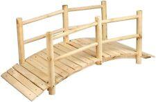 5 Foot Wide Wooden Bridge - Solid Pine