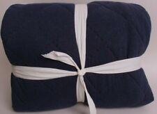 Pottery Barn Teen Favorite Tee FQ quilt full queen, navy blue *sample*