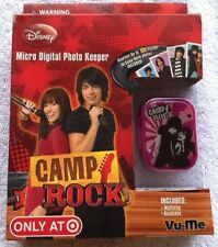 DISNEY CAMP ROCK MICRO DIGITAL PHOTO KEEPER