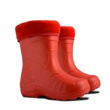 Kids Boys Girls Wellies Wellington Boots Rain EUR 22-35, UK 5-2.5 Lightweight