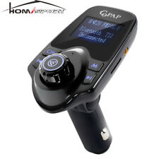 Wireless Car Bluetooth Fm Transmitter Audio Receiver Mp3 Player Usb Charger