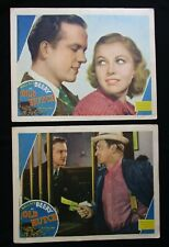 OLD HUTCH 1936 Rare lobby cards Wallace Beery Cecilia Parker Eric Linden comedy