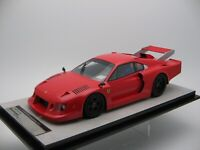 1/18 scale Tecnomodel Ferrari 308 GTB Turbo Press Test 1981 code TM18-100D