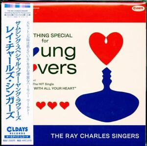 THE RAY CHARLES SINGERS-SOMETHING-JAPAN MINI LP CD BONUS TRACK C94