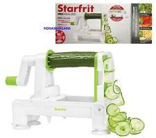 Starfrit Foldable ProSpiralizer 3 Blades Creates Veggie Noodles & Spiral Slices