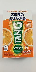 TANG Zero Sugar SINGLES TO GO Drink Mix Orange