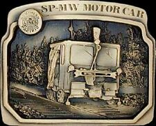 SP-MW Motor  Car  #191/300 Solid Bronze Belt Buckle