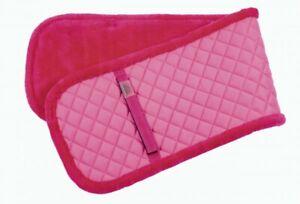 Longiergurt  / Voltigiergurt Unterlage Fell/Stepp pink von USG