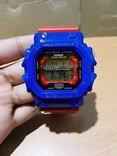 Vintage King of G-Shock Custom TF Optimus Blue-Red Solar GWX GXW GX56 Multiband6