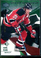 Rare 2003-04 Black Diamond Green #63 Patrik Elias Card Rare 57/100 GG
