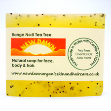 ACNE, SPOTS & BLACKHEADS Removal - Organic Soap Cleanser Bar for Face and Body