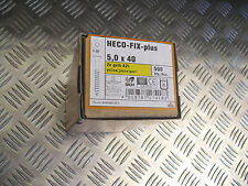 Heco-Fix-plus 5,0x40mm Universalschrauben Teilgewinde Senkkopf T-25 Zn gelb A2L