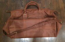 COACH Duffle Luggage Travel Leather Bag EUC Flaw No. D7M-503L