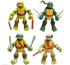 Teenage Mutant Ninja Turtles Classic Collection TMNT 4 Pc Action Figures Toys For Sale
