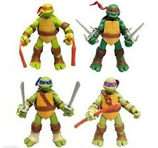 Teenage Mutant Ninja Turtles Classic Collection TMNT 4 Pc Action Figures Toys