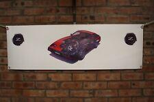 Nissan Z31 300 zx COLOUR   large pvc  WORK SHOP BANNER garage  SHOW BANNER