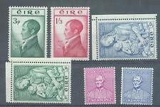 Ireland 1953-4 Three MNH sets sg.156-61