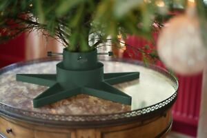 Modern Christmas Tree Stand Real Xmas Trees Green Base Holder Heavy Duty