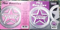 2 CDG BEATLES LEGENDS KARAOKE DISCS CD+G ROCK OLDIES #10,#135 YESTERDAY,HEY JUDE