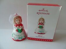 Christmas Hallmark  Bell Tree Decoration 'Holly'