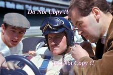 Graham Hill & Jackie Stewart retrato Indianapolis 500 1966 fotografía