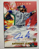 2020 Topps Inception Anthony Kay  47/75 RC Auto Red Blue Jays Rookie Clean Card
