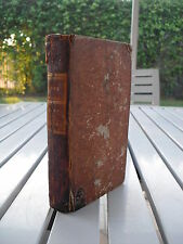BIBLIOTHEQUE UNIVERSELLE DES ROMANS OUVRAGE PERIODIQUE APRIL 1784 Ier VOLUME