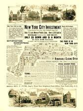 New York City Investment - City lots for sale - 1900