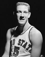 1960 Ohio State JOHN HAVLICEK Glossy 8x10 Photo College Basketball Portrait