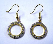 """Xena Chakram Earrings Jerelry- 3/4"""" Gold Plated- Beautiful- FREE S&H"""