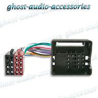 BMW 5 Series 2000 onwards e60 e61 ISO radio quadlock wiring harness adaptor