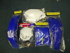 New WR WRF 250/450 05-06 Plastic Kit Enduro Plastics White Headlight Rear Light