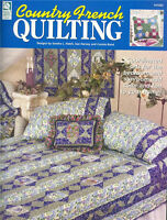 COUNTRY FRENCH Quilting Patterns Paperback Crafts Book in English ~ NEW