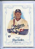 Yasiel Puig 2013 Allen & Ginter #44 Mini RC Rookie Card + Base RC Dodgers