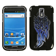 T-MOBILE SAMSUNG GALAXY S II 2 T989 GRAPHIC HARD SHELL CASE STEEL SHAR