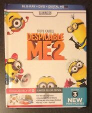 DESPICABLE ME 2 Blu-Ray DVD Digital Copy DigiBook Target Exclusive 24-page Book