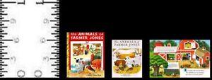 1:12 SCALE MINIATURE GOLDEN BOOK THE ANIMALS OF FARMER JONES DOLLHOUSE SCALE