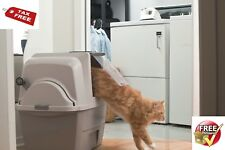 Self Cleaning Litter Box Cat Scoopfree Pan Tray Covered Potty Kitty Odorless Pet