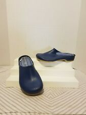 Sloggers Women's Size US 7 EUR 38 Garden Shoes Clogs  Mules Navy Blue