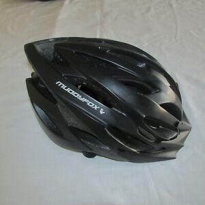 MUDDYFOX MTB Cycling Helmet - Matt Black  - L