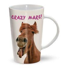 Taza De Café Con Leche-Caballo-Crazy Mare